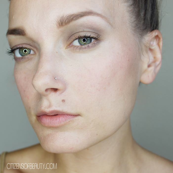 Naturally Nude Makeup Look