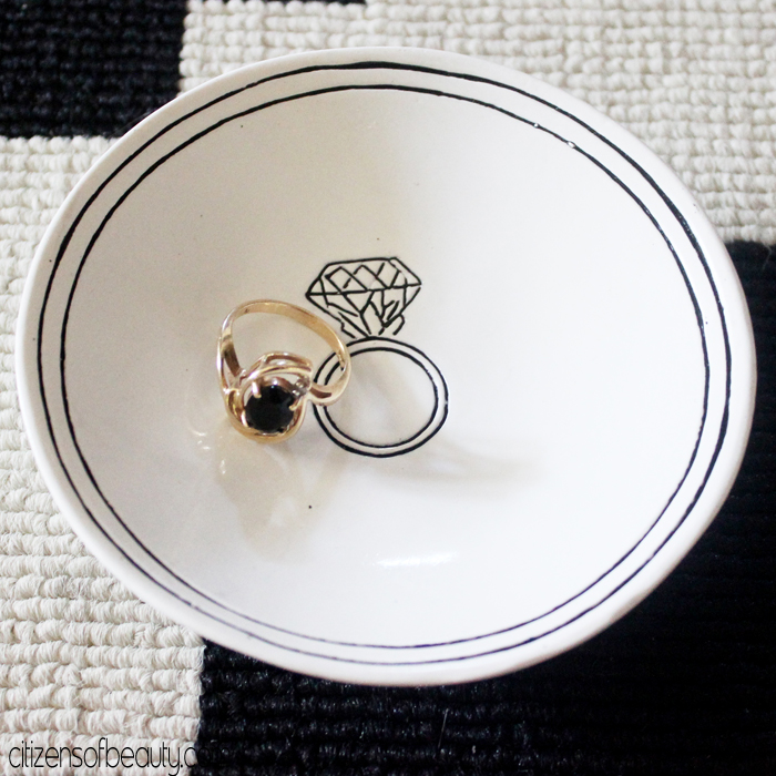 Pretty little things like a ring dish that is cute for home decor. Via@citizenofbeauty