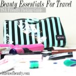Labor Day Packing: Beauty Essentials for Travel