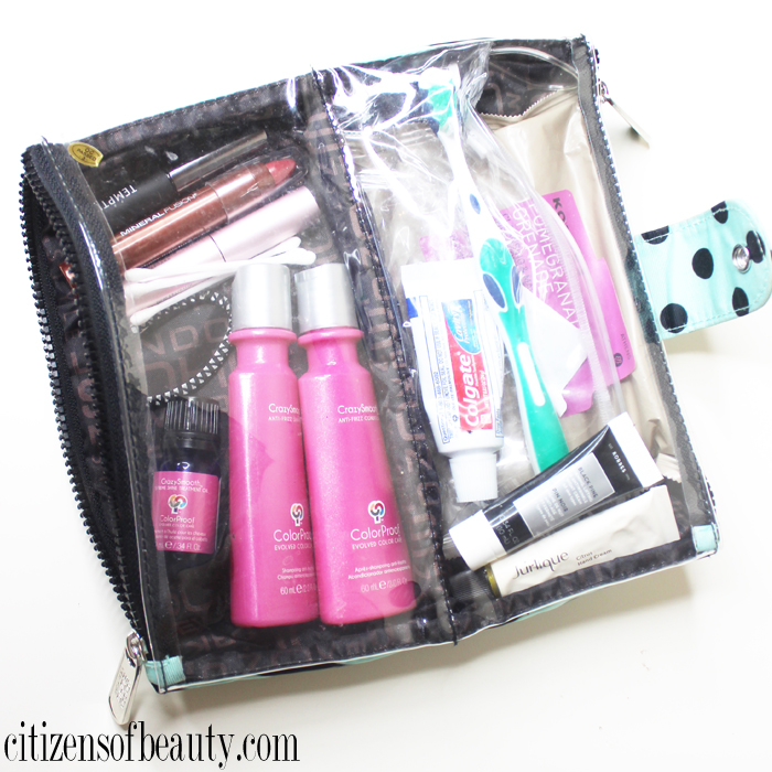 Beauty Essentials packing guide