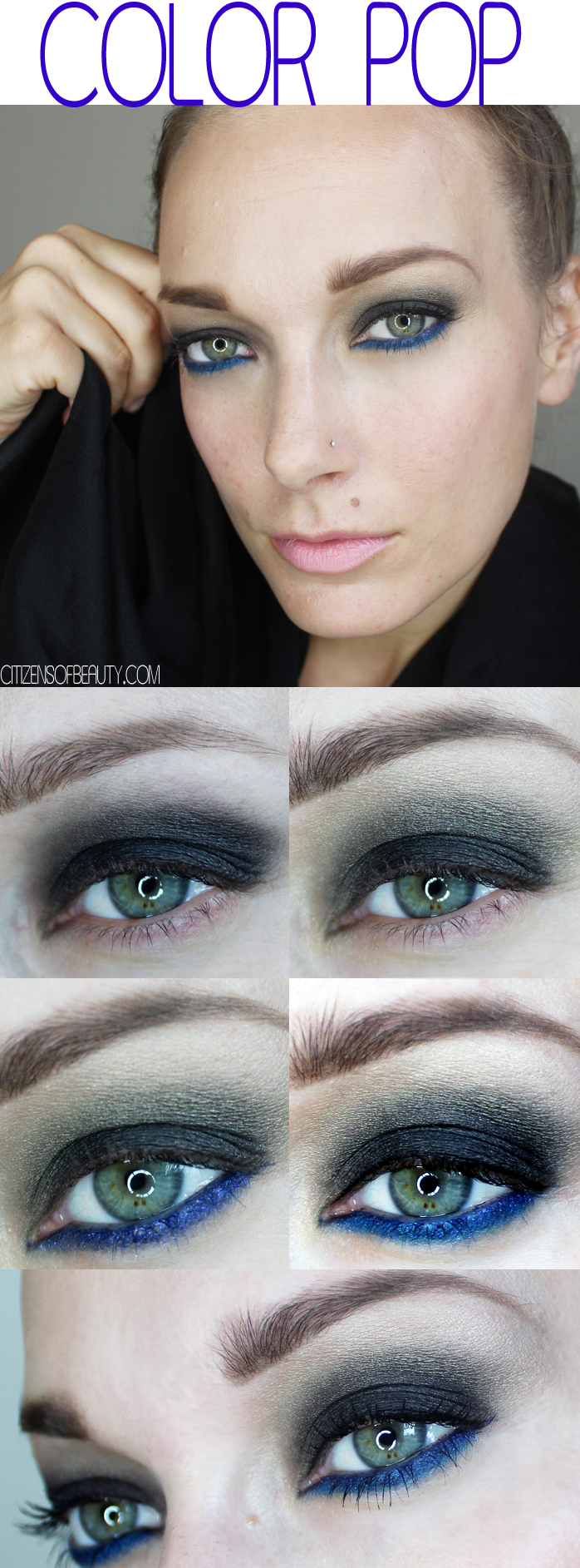 Fall Makeup Looks: COLOR POP Makeup Tutorial