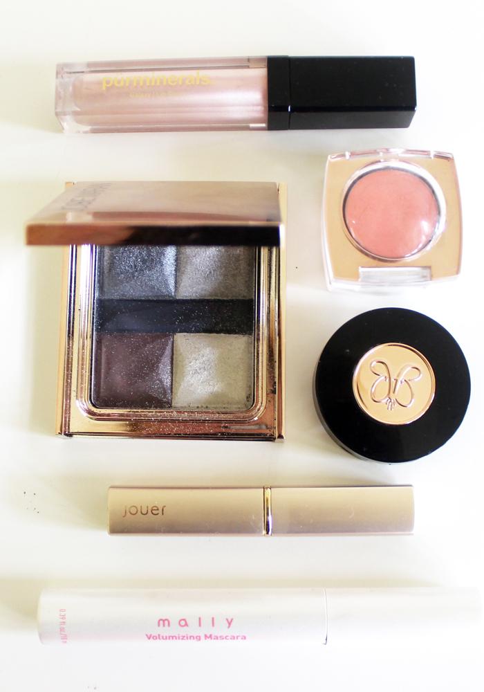 metallic eye makeup trend for fall 2014