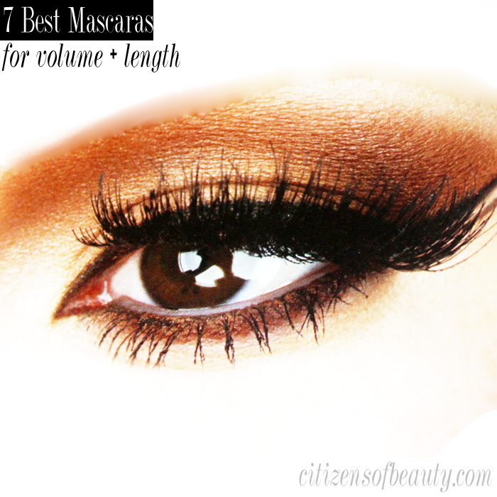 7 of the best mascaras for adding volume and length to your eyelashes.