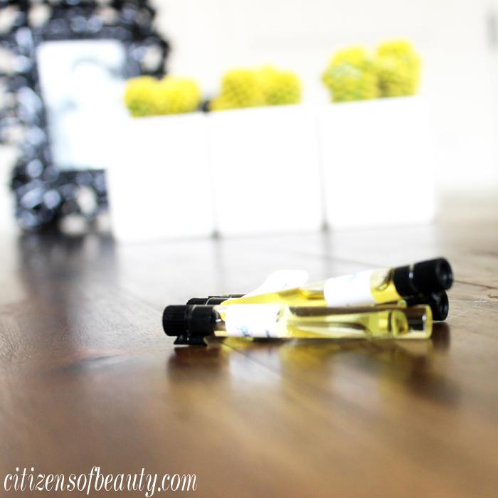 Organic oils from elizabeth organics skincare