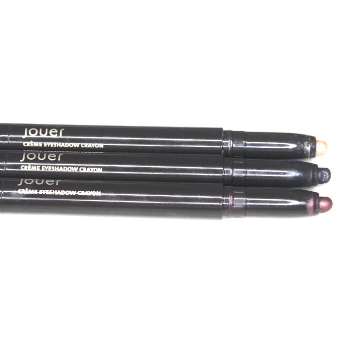 Jouer cosmetics eyeshadow crayons for creating an easy 5 minute smokey eye design