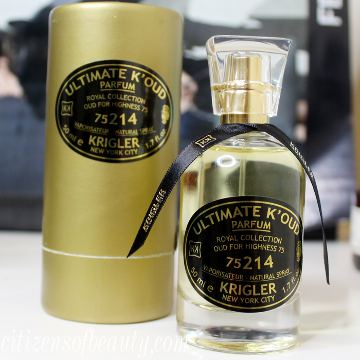 Review of the KRIGLER Ultimate K'oud Parfum