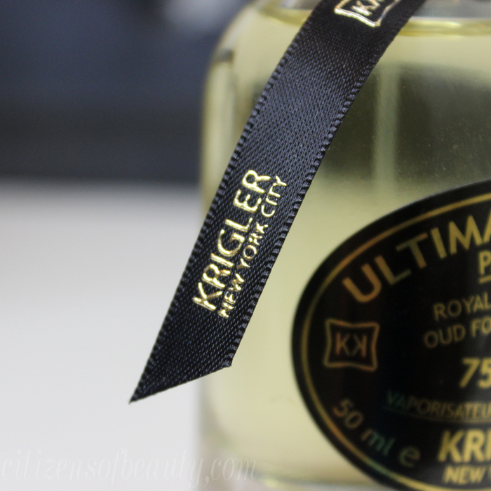 Review of Krigler New York City Ultimate K'oud 75214 Royal Collection Fragrance