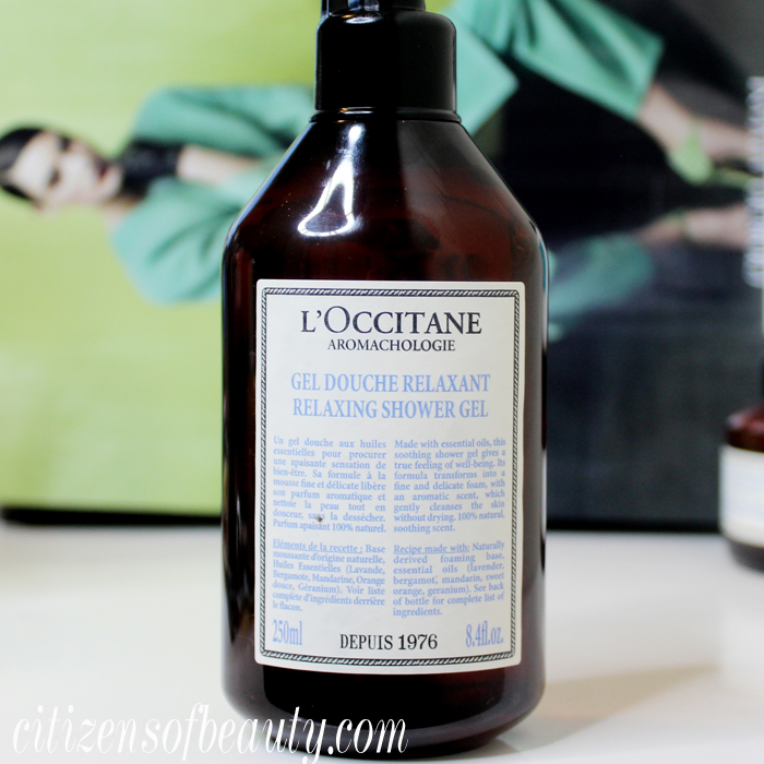 Review of L'Occitane aromachologie shower gel