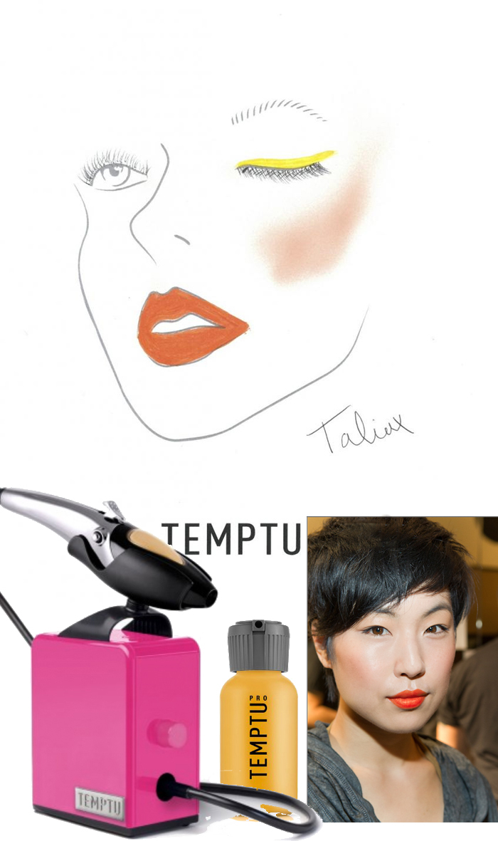 NYFW SS 15 Makeup Looks created by Temptu