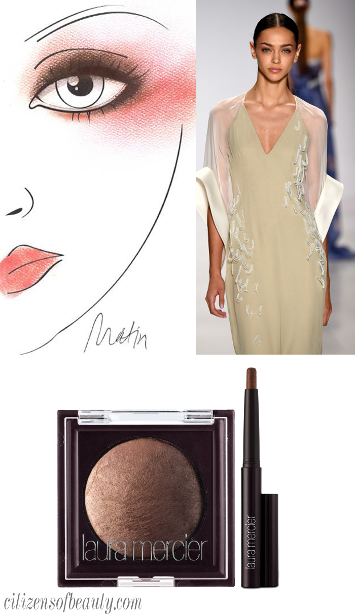 NYFW SS '15 Makeup Looks using Laura Mercier