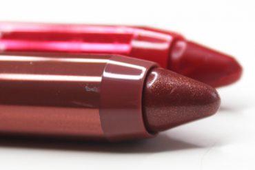 REVLON colorburst lacquer balm chubby lip pencil review
