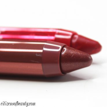 REVLON colorburst lacquer balm chubby lip pencil review