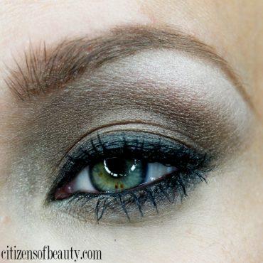 Smokey brown eyeshadow design using the Milani drugstore eyeshadows