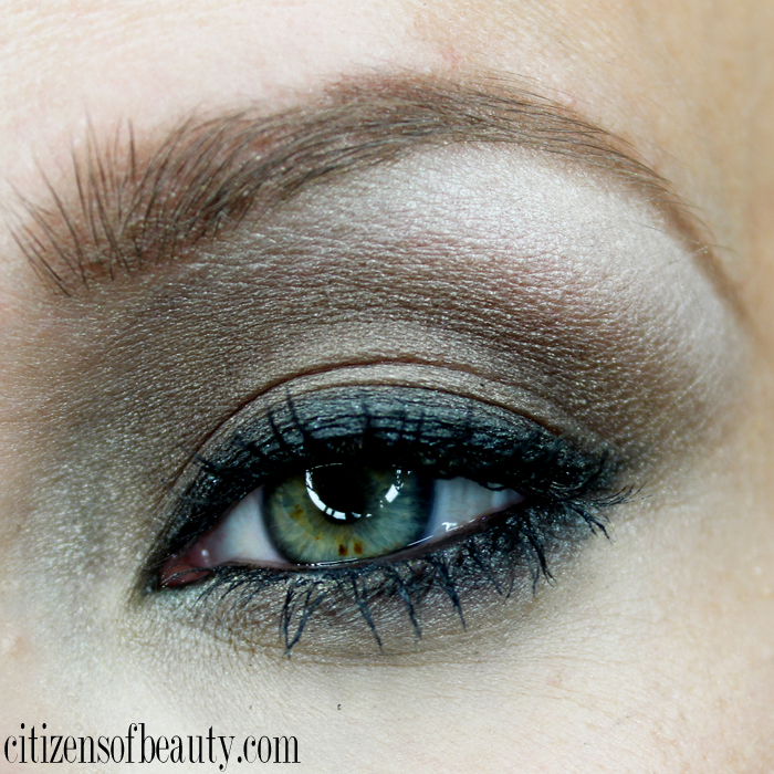 Smokey brown eyeshadow design using  the Milani  drugstore eyeshadows