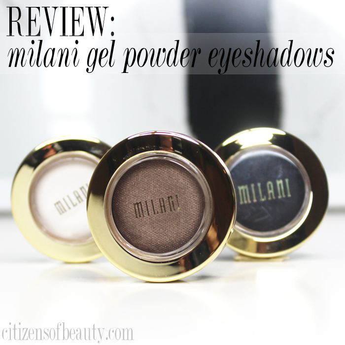 Milani Bella Gel Powder Review and Eye Makeup Design