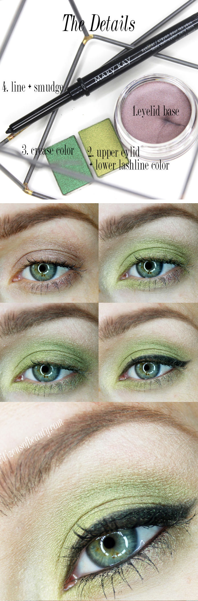 Smokey Green Eyes and Berry Lips for Fall