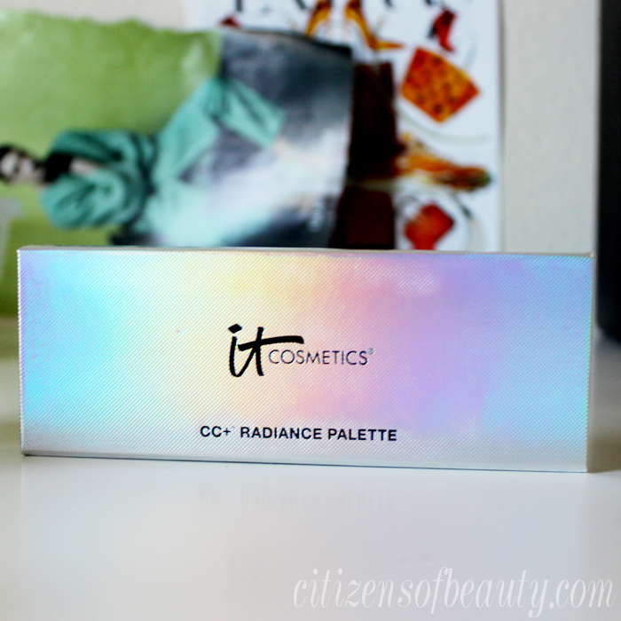 Review and tutorial of the It Cosmetics Radiance Palette