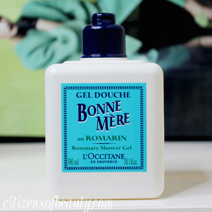 Review of Bonne Mere rosemary shower gel by  L'Occitane