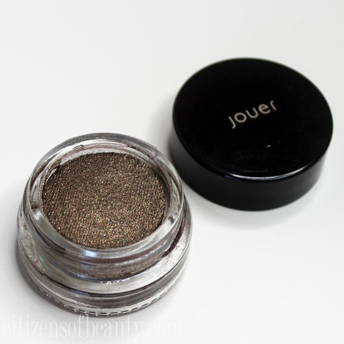 review ofJouer Cosmetics Longwear Cream Mousse Eyeshadow night sky
