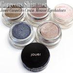 Jouer Cosmetics Long-Wear Cream Mouse Eyeshadows