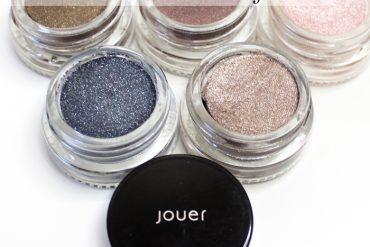 review of Jouer Cosmetics, longwear cream mousse eyeshadows