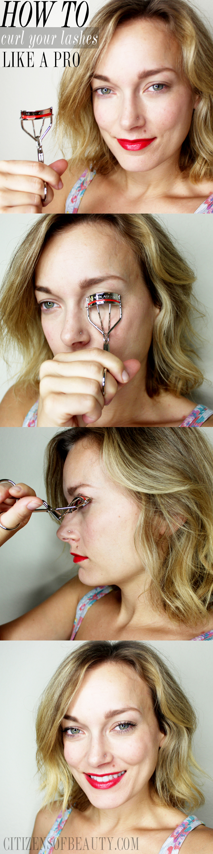 professional eyelash curling tips