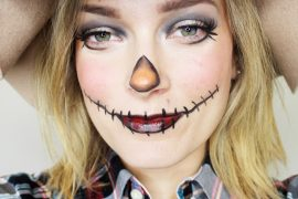 How to get a scarecrow makeup look for halloween