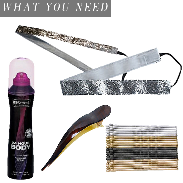 HOLIDAY UPDO HAIR SUPPLIES