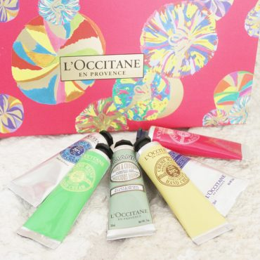 "Hand Cream holiday gift set my L""Occitane"