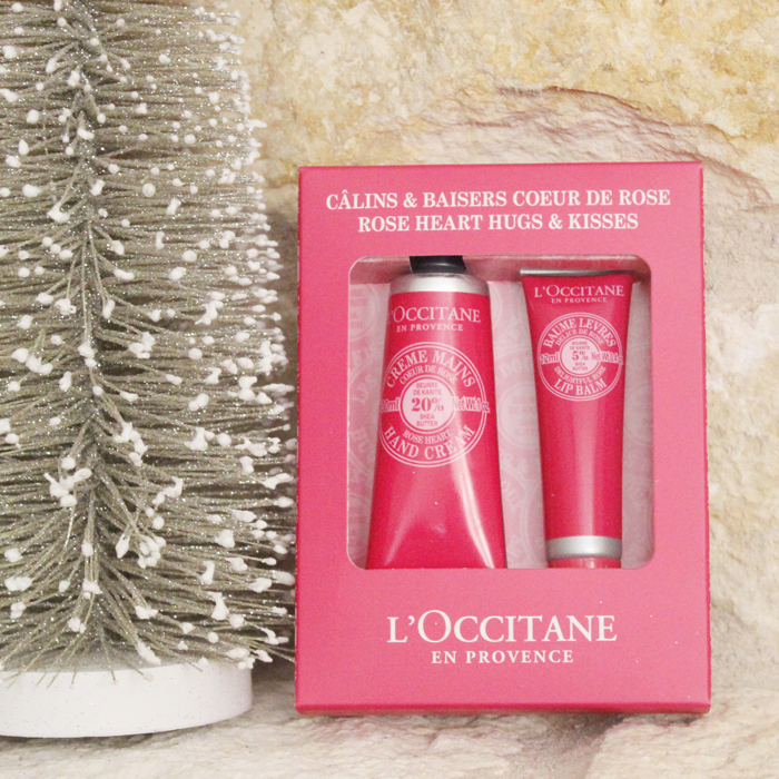 Holiday 2014 L'Occitane Rose Heart Hugs & Kisses
