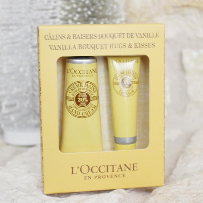 L'Occitane Vanilla holiday bath and body set