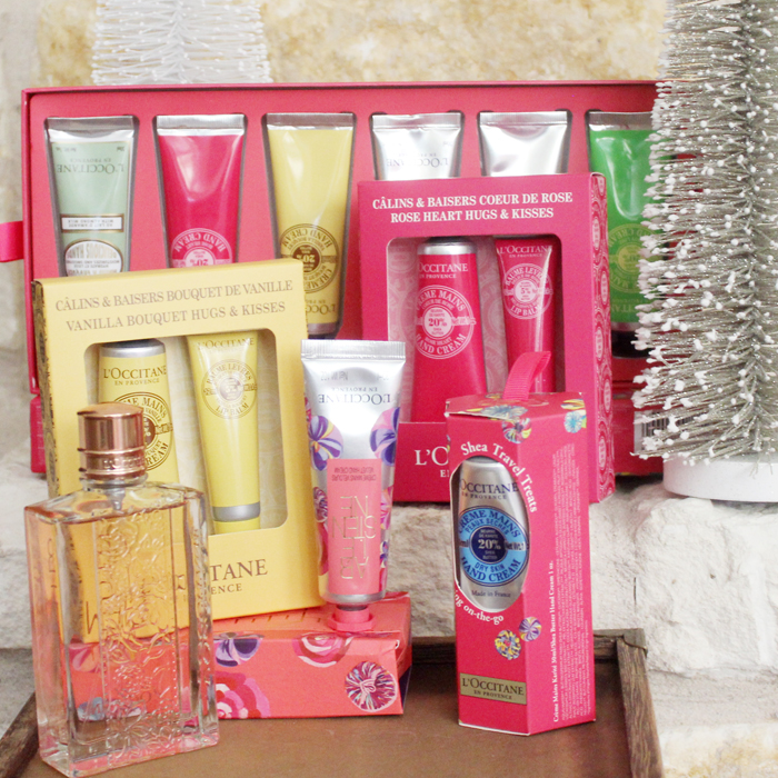 Bath and Body Holiday Gift Sets from L'Occitane