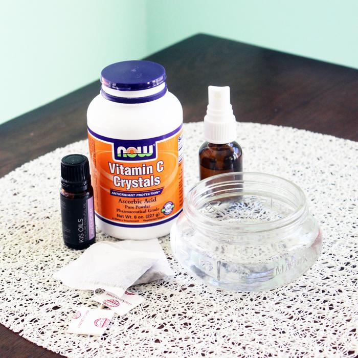 DIY Lavender Vitamin C Toner