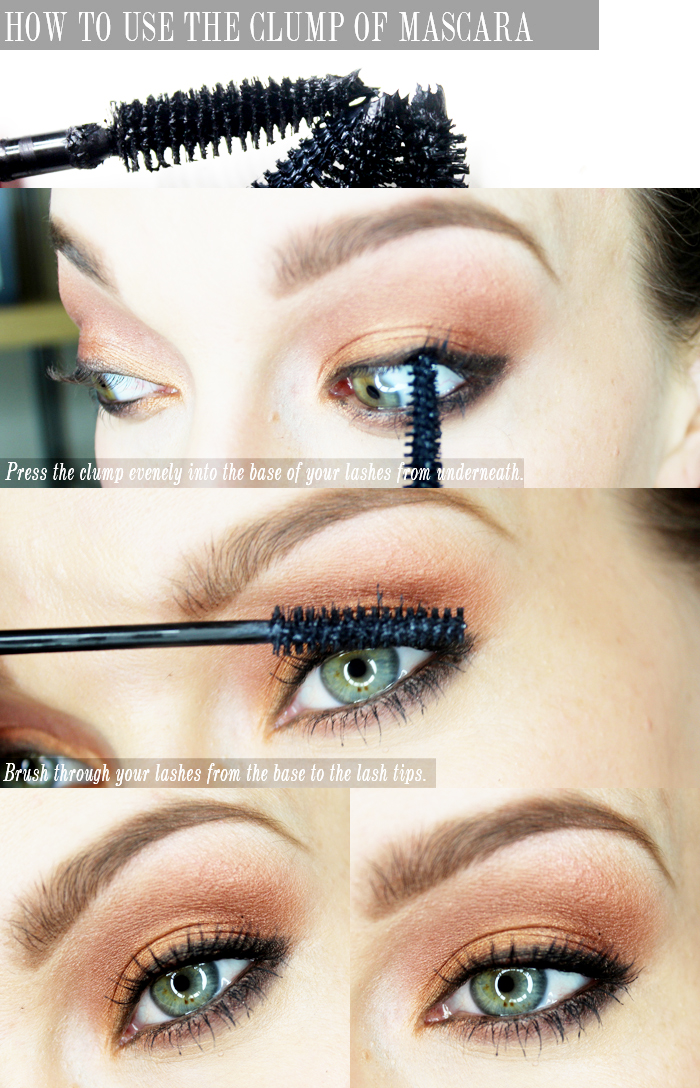how to use your clump of mascara