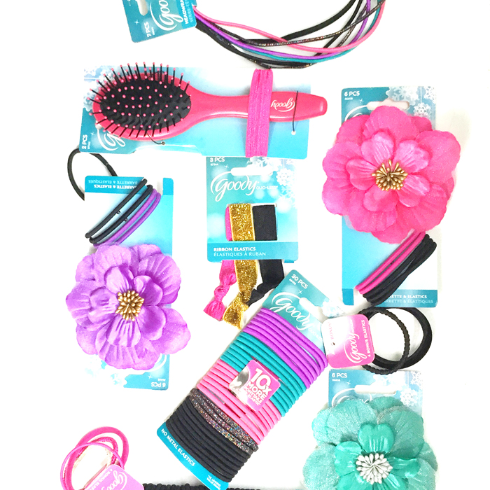 using goody hair accessories for christmas gifts