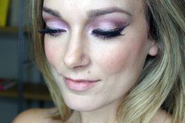 2014 holiday makeup look