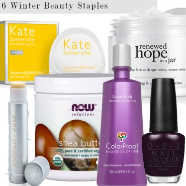 winter beauty staples