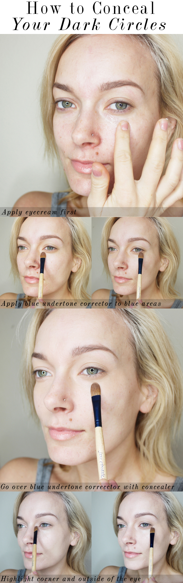 Learn the beauty basics on how to conceal your dark circles using the best concealers.