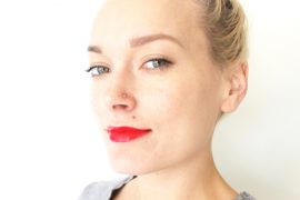 red lip beauty trend for 2015