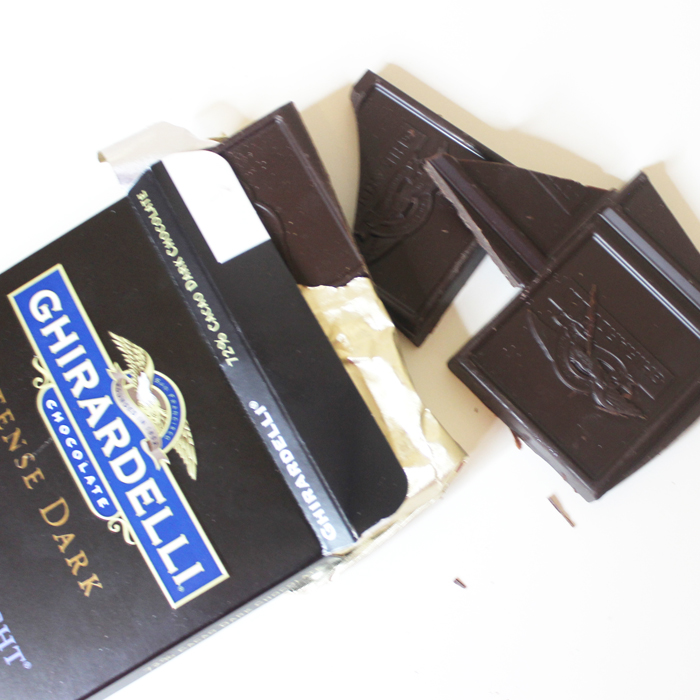 ghiradelli dark chocolate