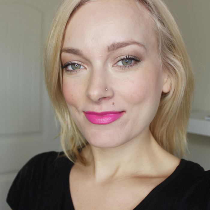 Review of the All Dolled Up Gerard Cosmetics lipstick