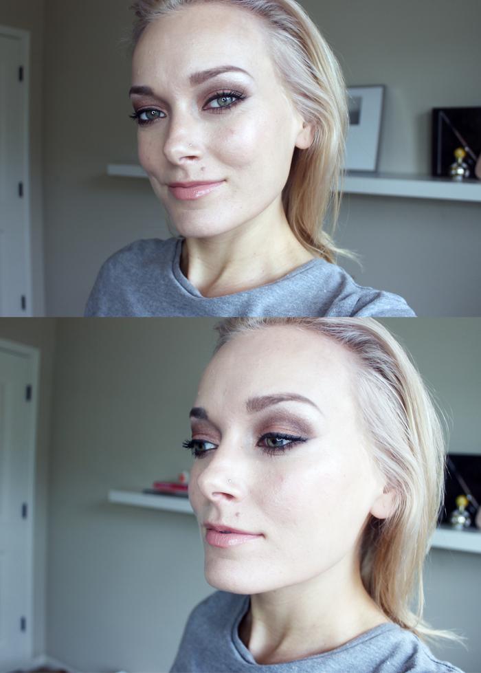 Too Faced Chocolate Bar makeup look