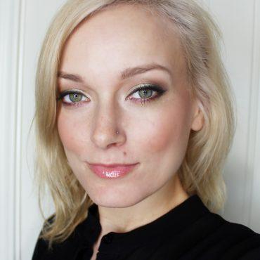 anti-pink valentines day makeup look