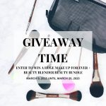 Worldwide Giveaway: Featuring Makeup Forever and Beauty Blender