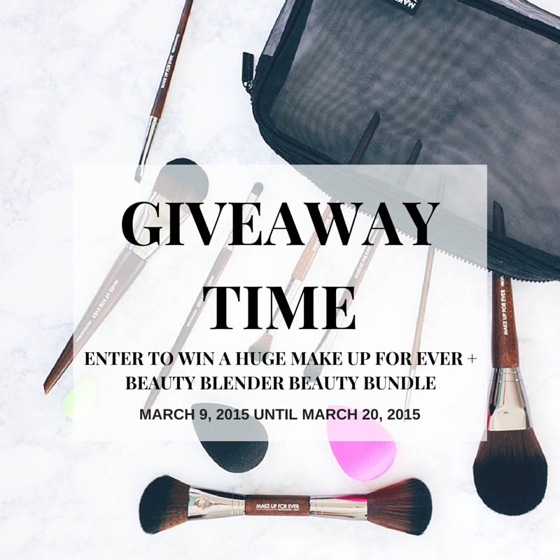 Worldwide Giveaway: Featuring Makeup Forever And Beauty