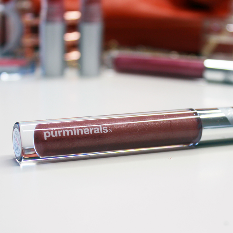 review of pur minerals exposed lipgloss