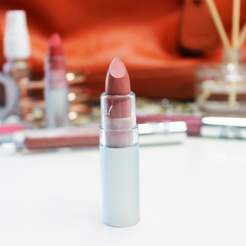 review of talker lipstick my pur minerals