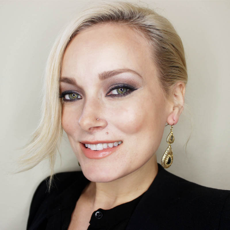 creating a look using drugstore and designer makeup