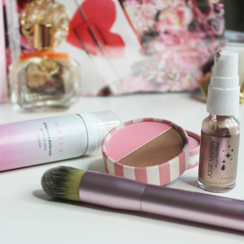 mixing makeup drugstore and desgigner