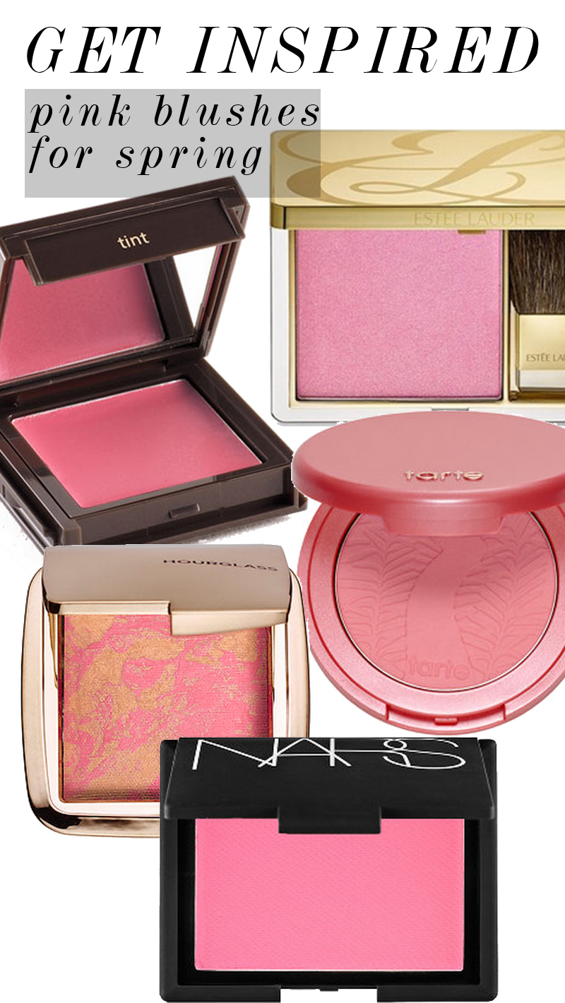 pink blush colors for spring 2015